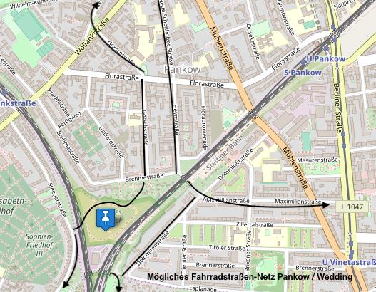 Grafik: H. Wettig/ Open Maps